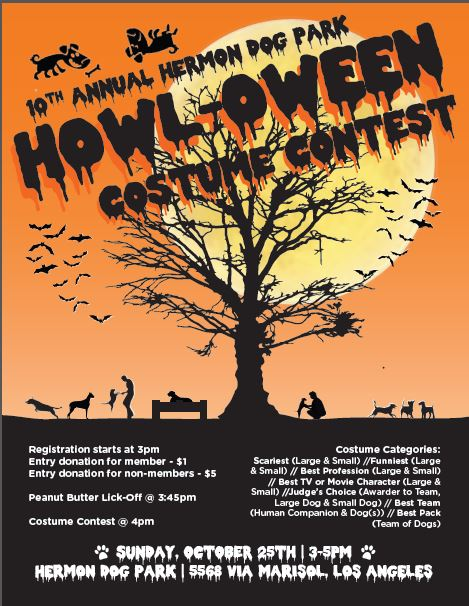 10th Annual HOWL-oween Spooktacular Event